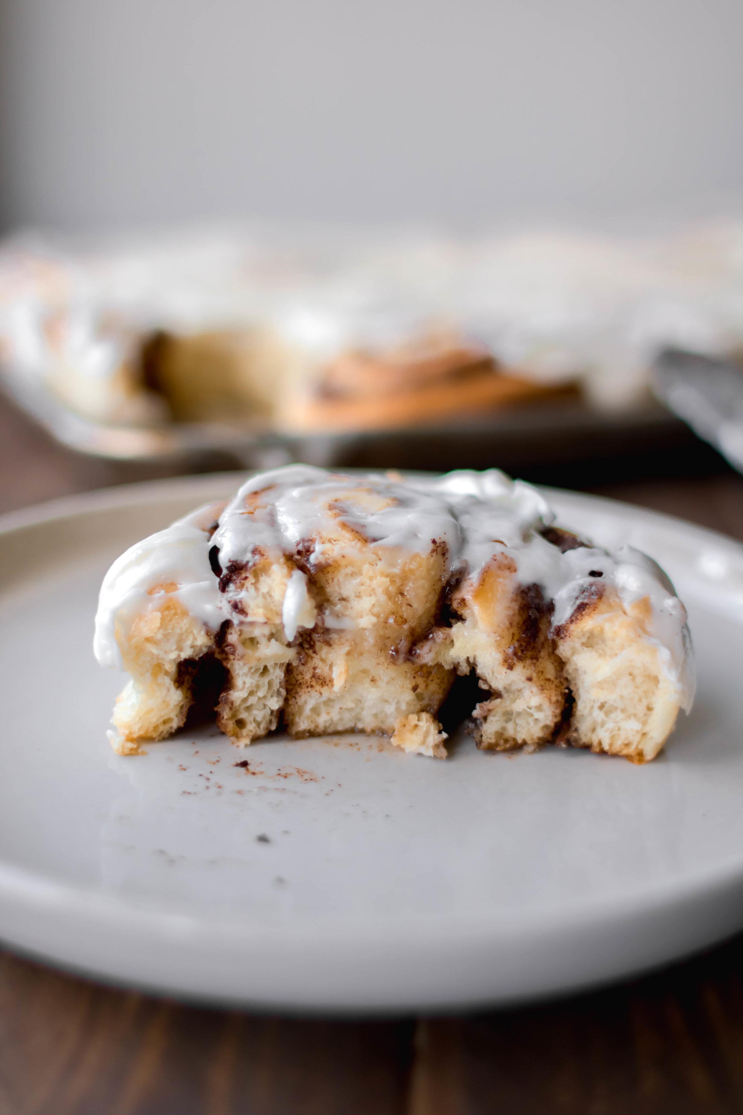 the very best cinnamon rolls