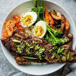 korean bbq short rib bowls