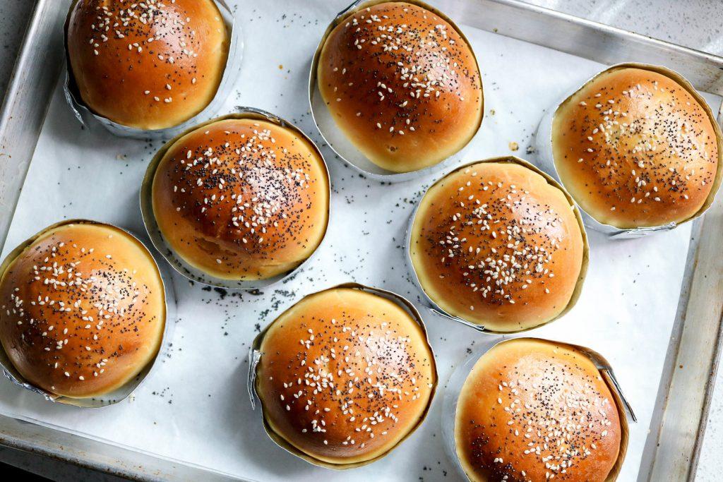 the best brioche burger buns