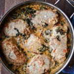 pork chops florentine