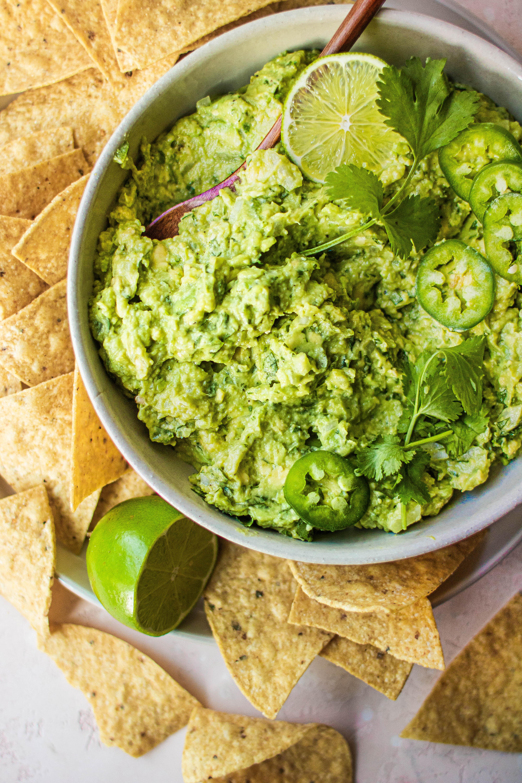 5 ingredient guacamole