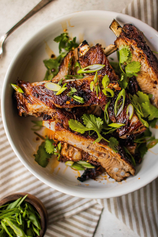 instant pot asian sticky ribs