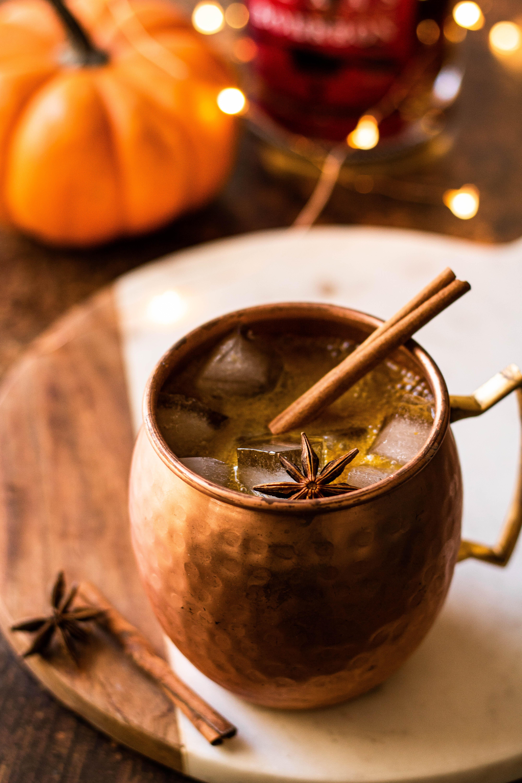 pumpkin spice mule