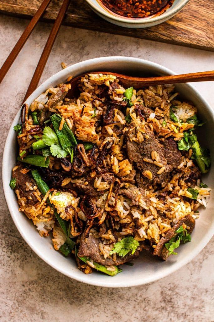 bulgogi fried rice