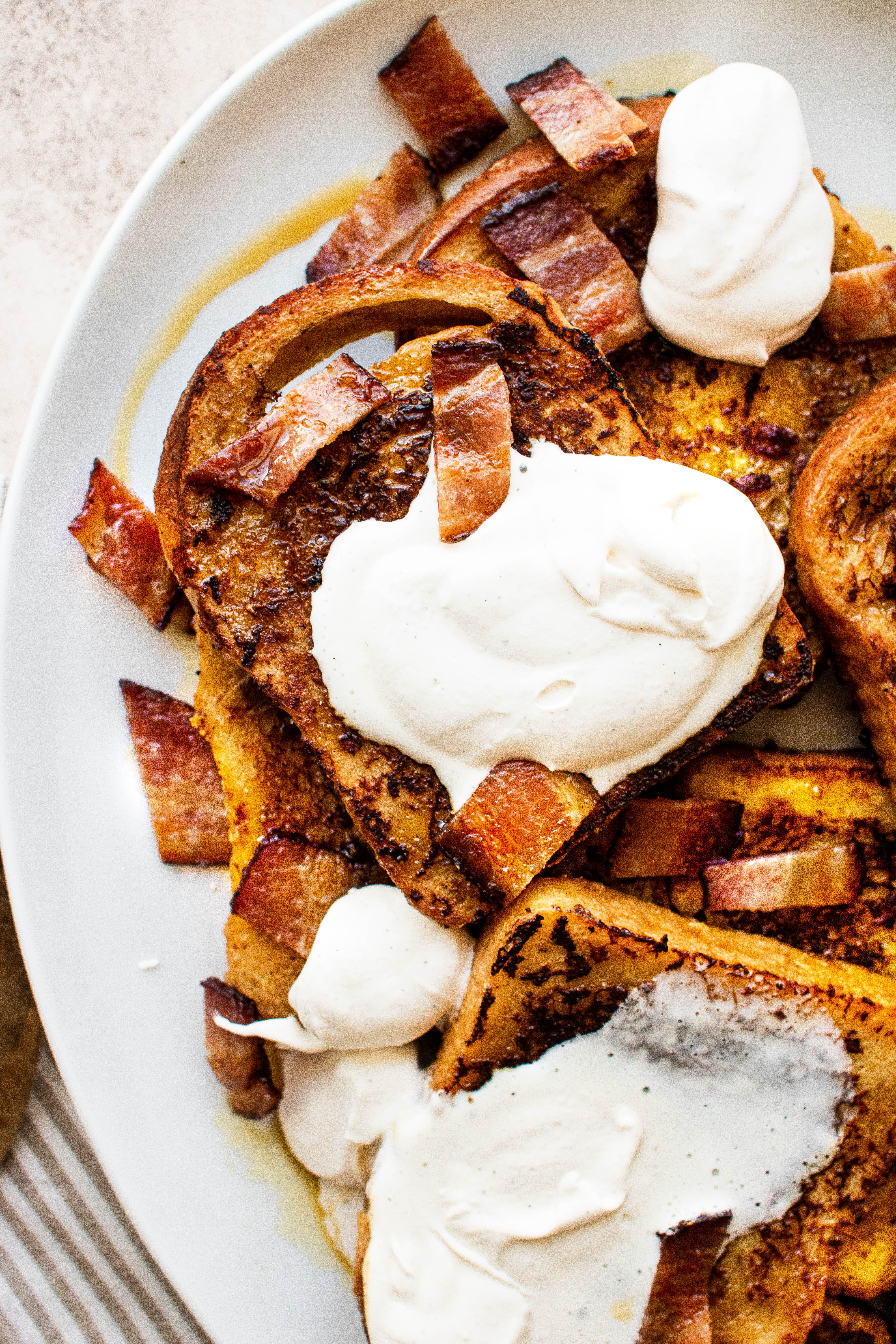 maple bacon french toast