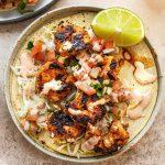 chile lime shrimp tacos