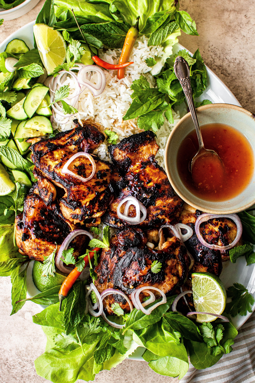 lemongrass grilled chicken
