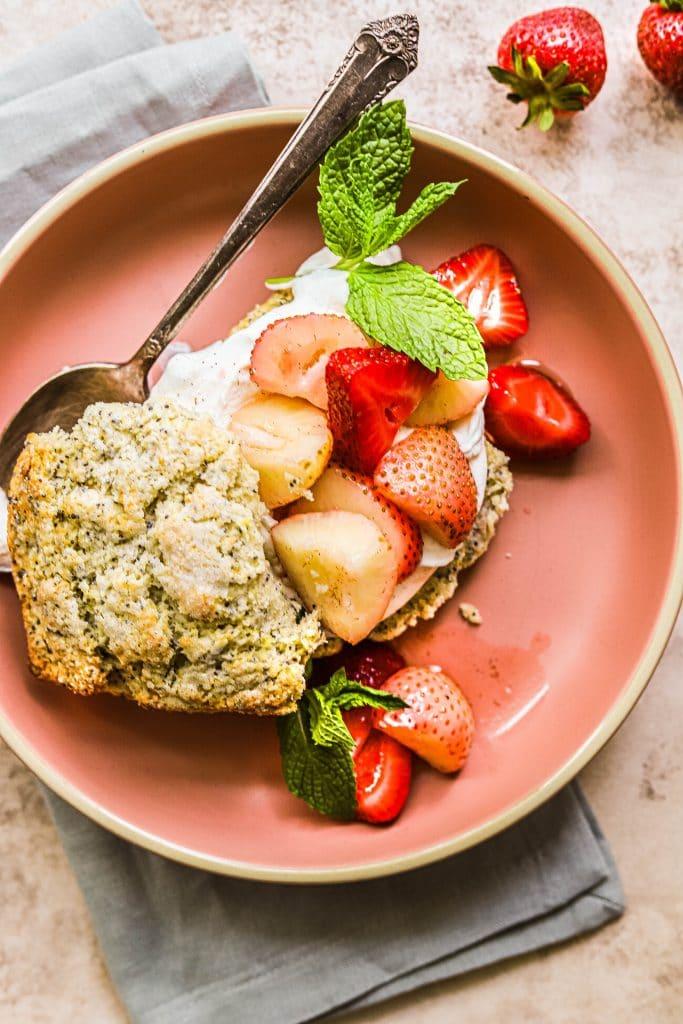 strawberry lemon shortcake